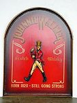 JOHNNIE WALKER Advertising Plate - Large