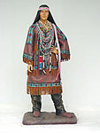 INDIAN WOMAN LIFE SIZE STATUE