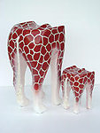 GIRAFFE ANIMAL STOOL - LARGE