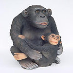 MONKEY WITH BABY (Big)