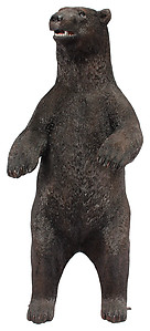 Large American Black Bear Standing Statue