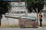 Pirate Cannon Life Size Replica From Spanish Warship Seville 1778
