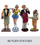Butler Statues, Chef Statues, Cook Statues
