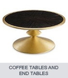 Modern Baroque Coffee Tables and End Tables