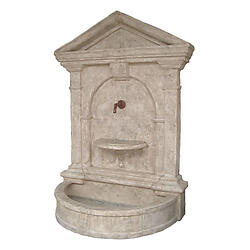 Florentine Wall Fountain-Roman Stone Finish