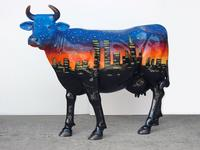 New York Night Cow