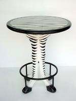 Bar Table Zebra 3.50 Ft