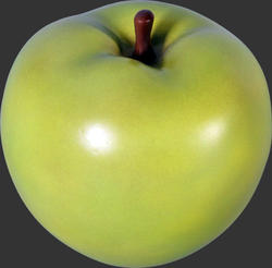 Apple Sculpture - Green - Tiny