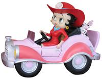 Betty Boop in Comic Car