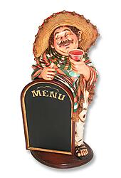 MEXICAN MENU WAITER 3 FT