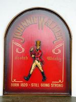JOHNNIE WALKER Advertising Plate - Small