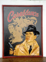 CASABLANCA Advertising plate - Small