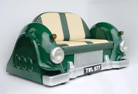 Mercedes Car Sofa - Green
