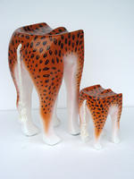 LEOPARD ANIMAL STOOL - SMALL