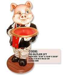 PIGGY BUTLER 3FT