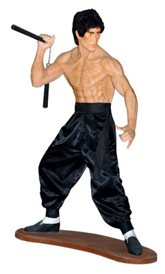 Kung Fu Fighter Life Size Statue (6ft)
