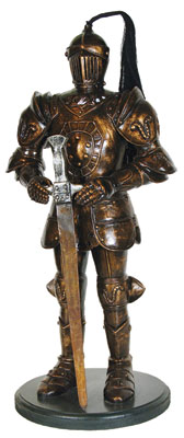 Mysterious Knight Statue (3ft)