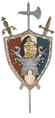 Spanish Coat Of Arms 5.5 FT