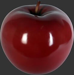 Apple Sculpture - Red