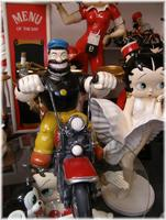 Bluto on Bike