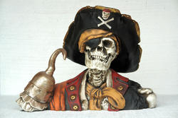 Captain Hook Skull Head