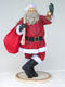SANTA CLAUS WITH BEARD 4.5FT