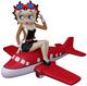 Betty Boop on Airplane - 12
