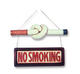 No Smoking Cigarette Sign