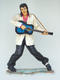 ROCK AND ROLL SINGER WITH GUITAR - LIFE SIZE STATUE