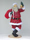 SANTA CLAUS WITH BELL (6FT)