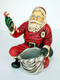 SANTA CLAUS KNEELING - SMALL