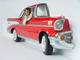 Red Chevy Car Wall Decor with Rock and Roll Singer
