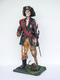 Skeleton Pirate with Wooden Leg and Hook Statue 6FT