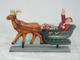 SANTA ON SLEIGH 2 SIDED