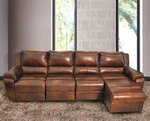 Dezi Modern Leather Sectional