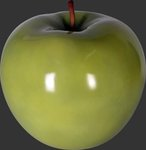 Apple Sculpture - Green