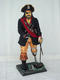 Captain Hook Like Pirate Statue with Wooden Leg & Hook 3FT